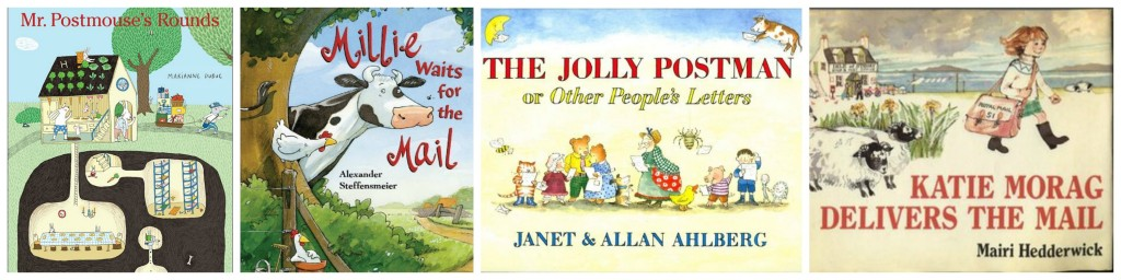 children's books about mail carriers