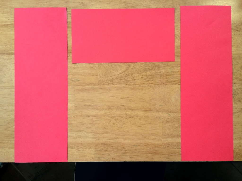 Cutting out spring couplets for Chinese New Year