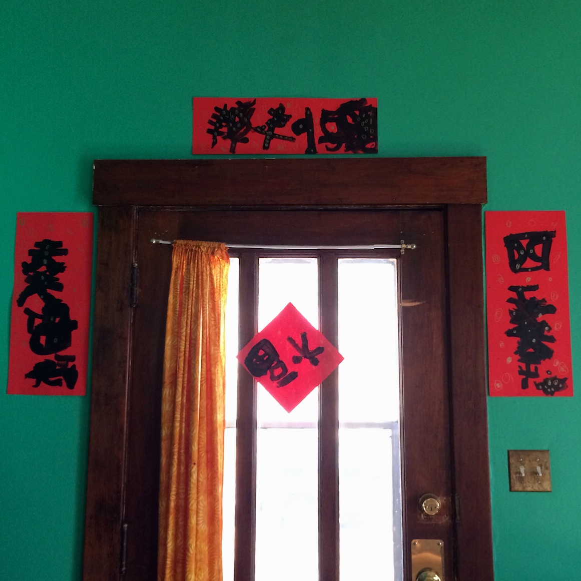 chinese new year good luck decorations sturdy for common