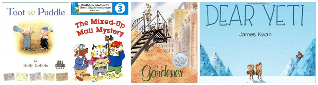 favorite children's books about mail and writing letters