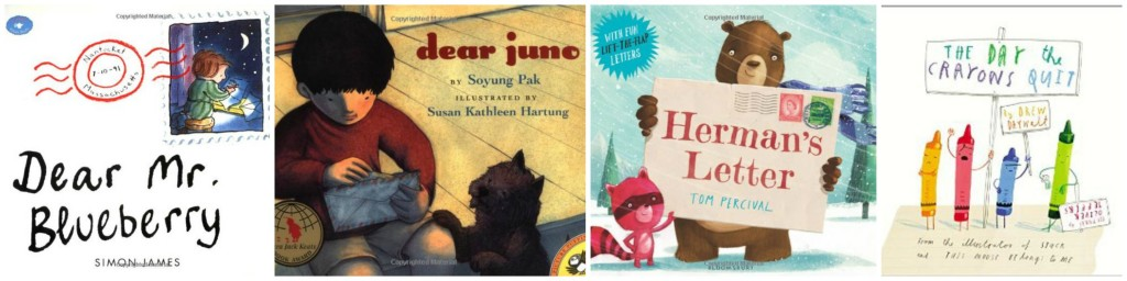 kids books about mail and writing letters