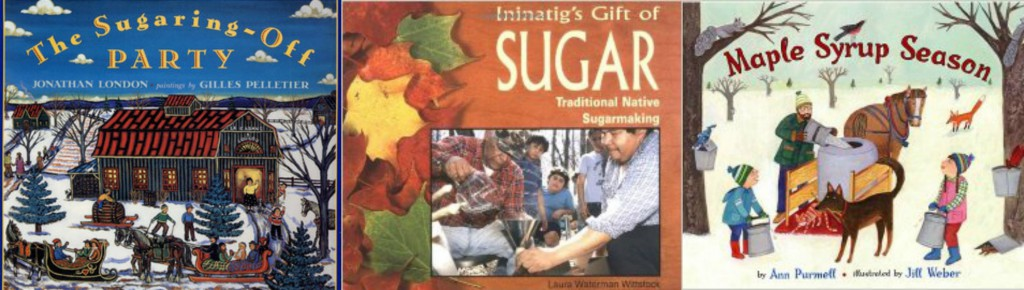 children's books about sugaring maple syrup season