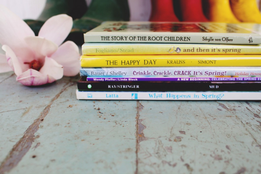 Favorite Children's Books About Spring - Seasonal booklist for kids