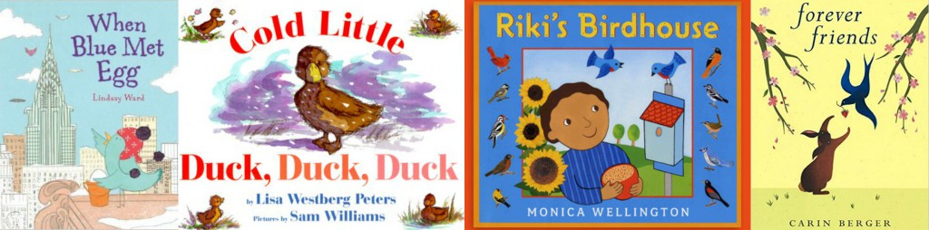 books about spring birds