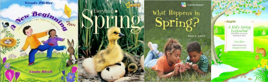 books about spring for kids
