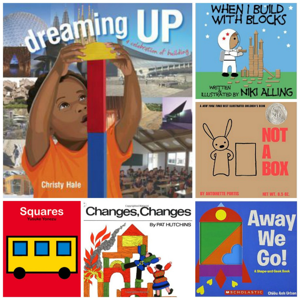 children's books about building and blocks