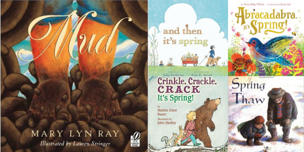 children's picture books about spring