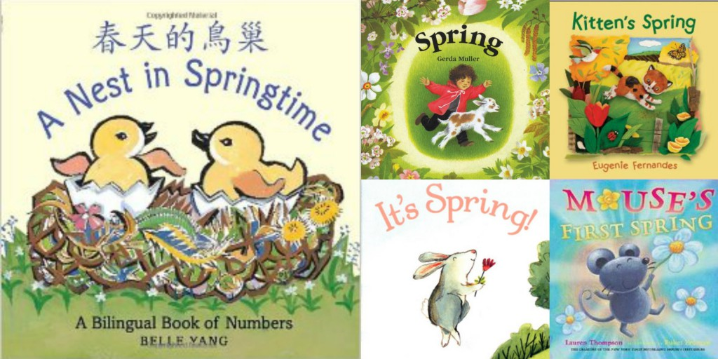spring books for babies and toddlers