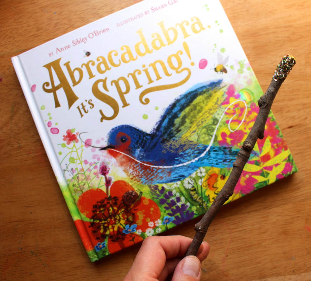 Abracadabra, It's Spring + DIY Magic Wand for kids