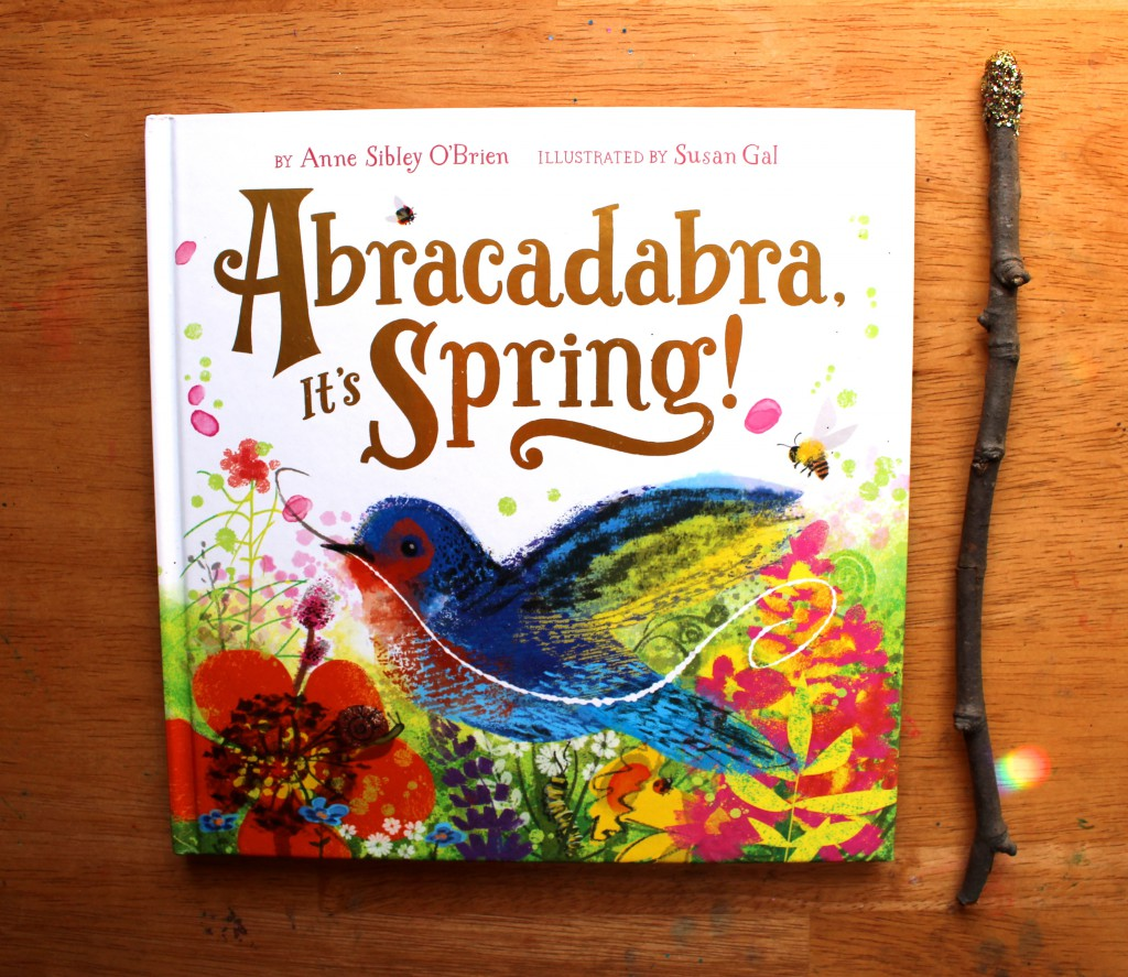 Abracadabra, It's Spring and DIY Magic Wand Craft