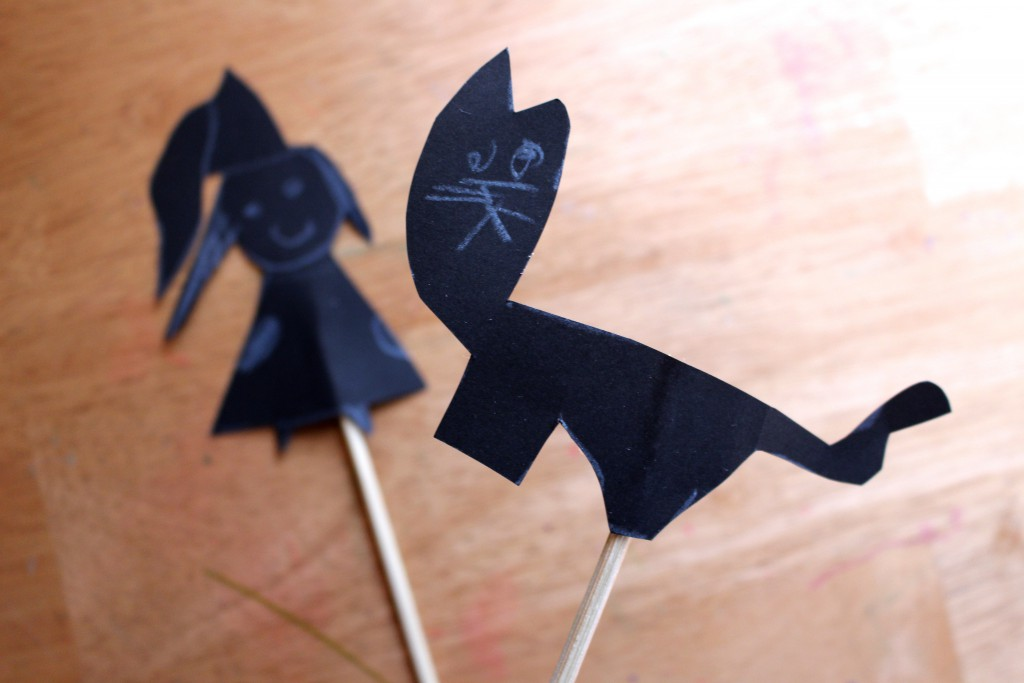 Shadow Play free-form puppets