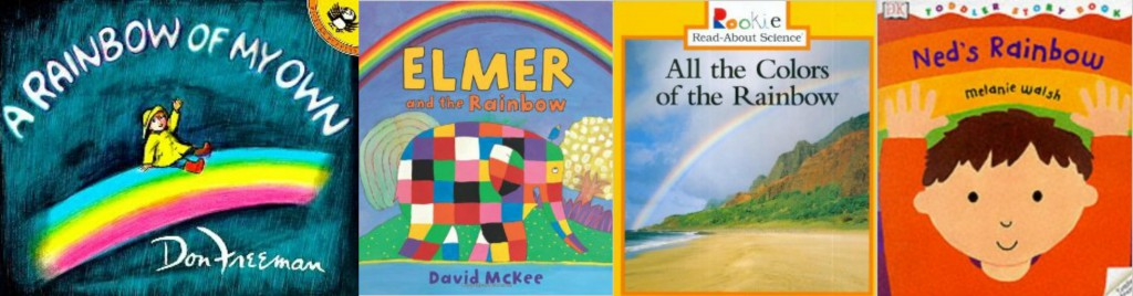 books about rainbows