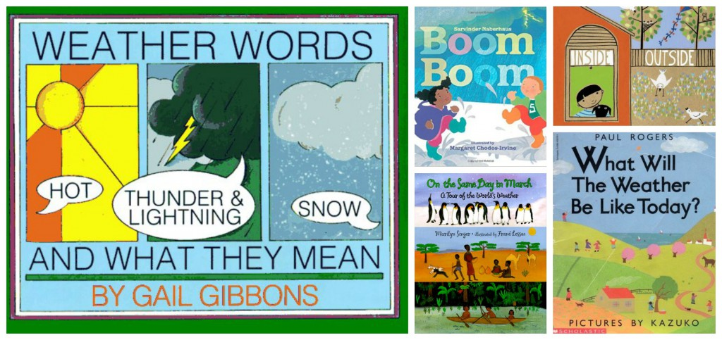 Children's books about weather
