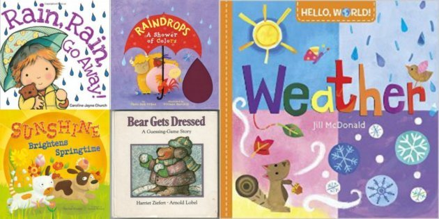Books for Babies and Toddlers About Weather