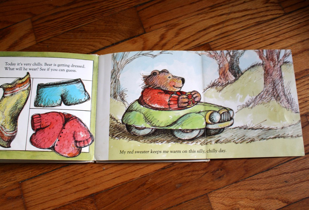 Bear Gets Dressed by Harriet Ziefert, illustrated by Arnold Lobel