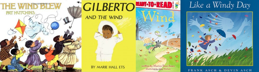 Children's Books about the wind