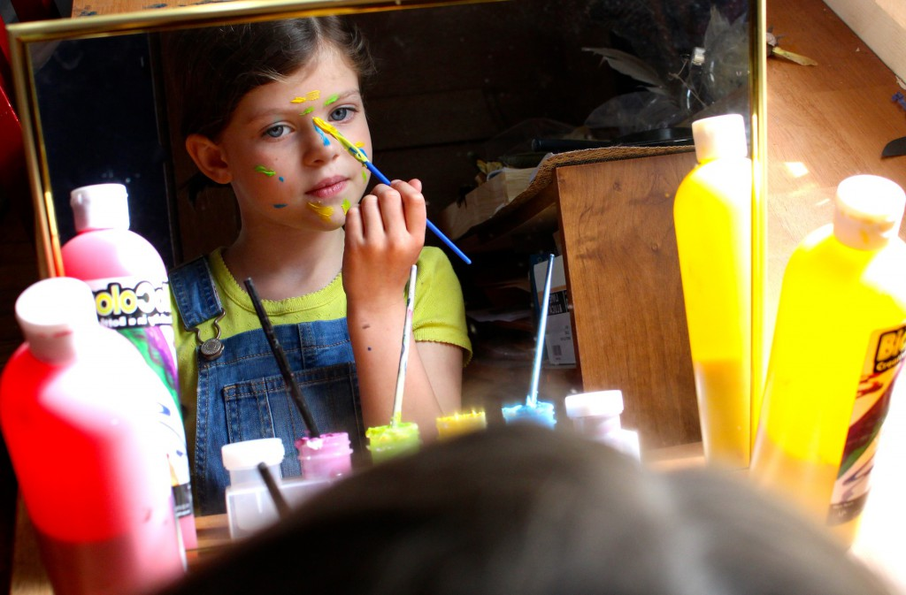 Swatch The Girl Who Loved Color Face Painting