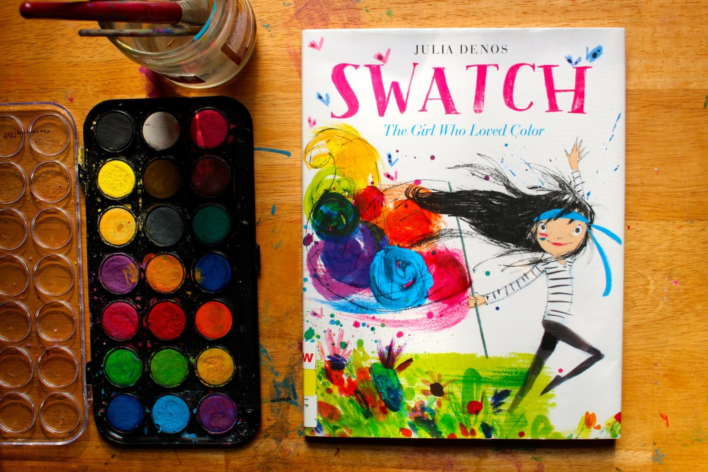 Swatch The Girl Who Loved Color + Face Painting Fun