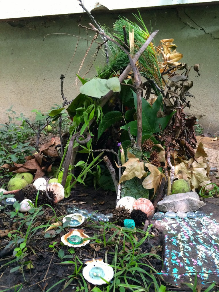 backyard fairy house for kids