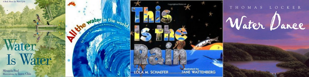 books about the water cycle