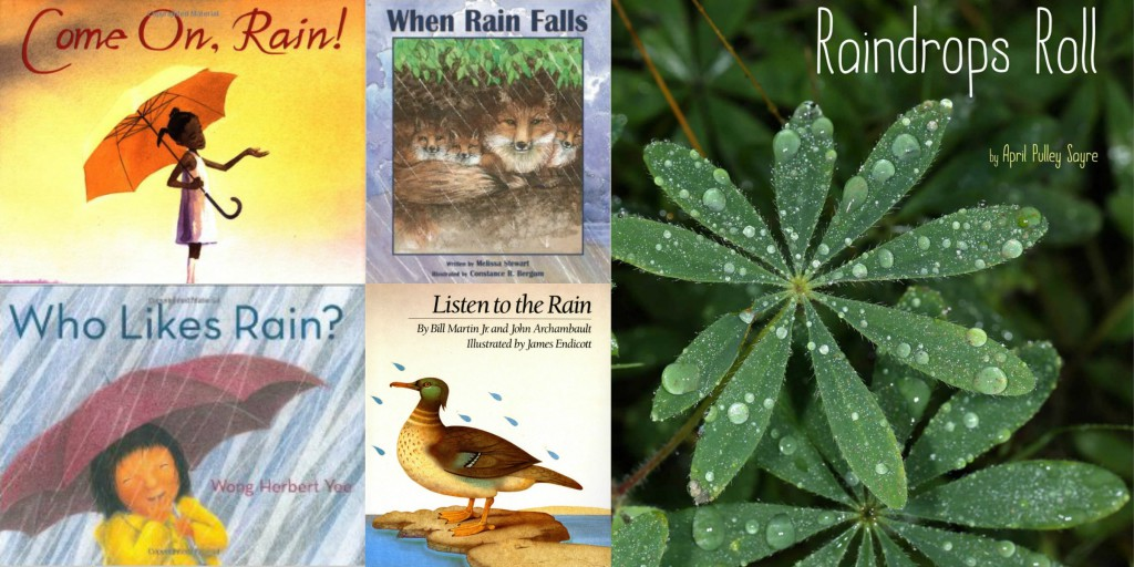 children's books about rain