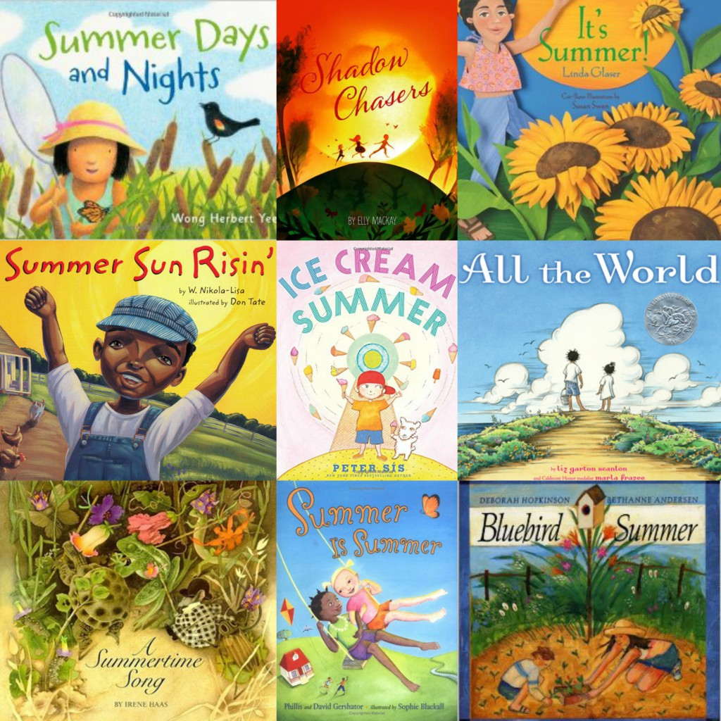picture books about summer