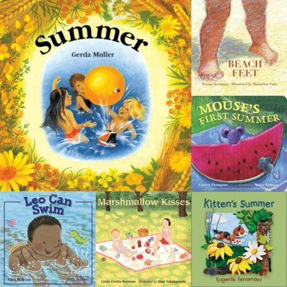 books for babies and toddlers about summer