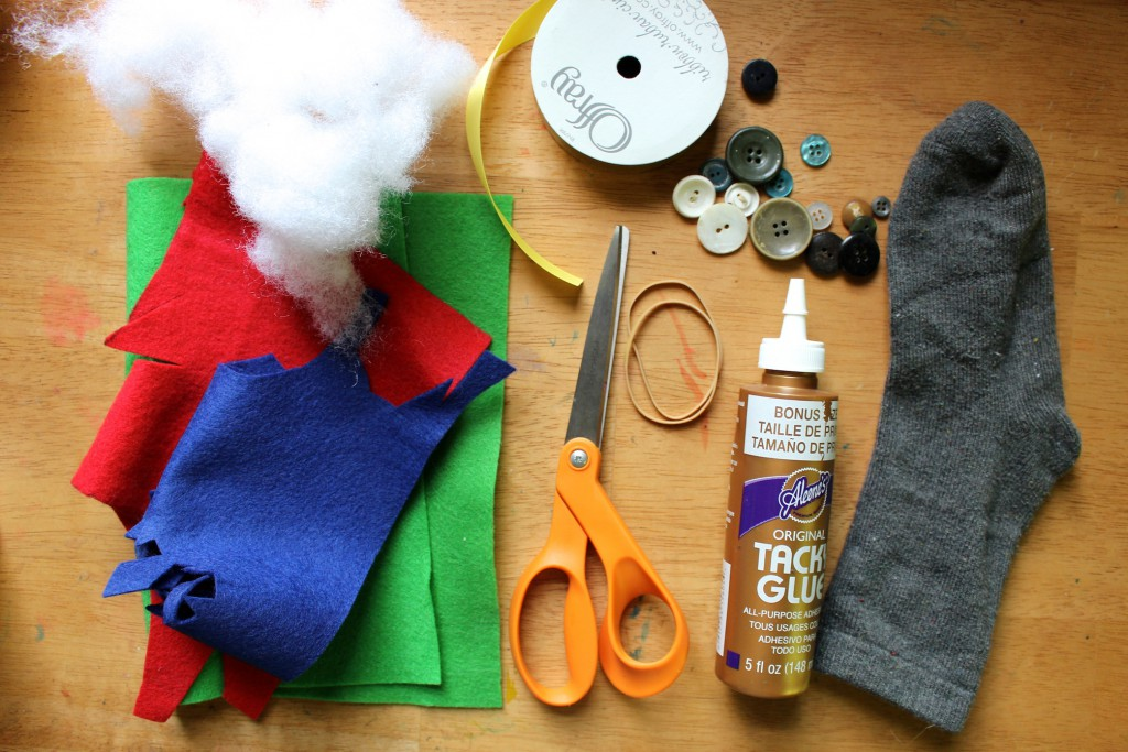 diy sock stuffie