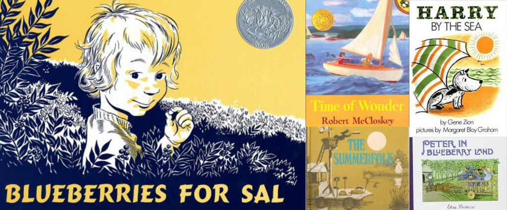 vintage children's books about summer