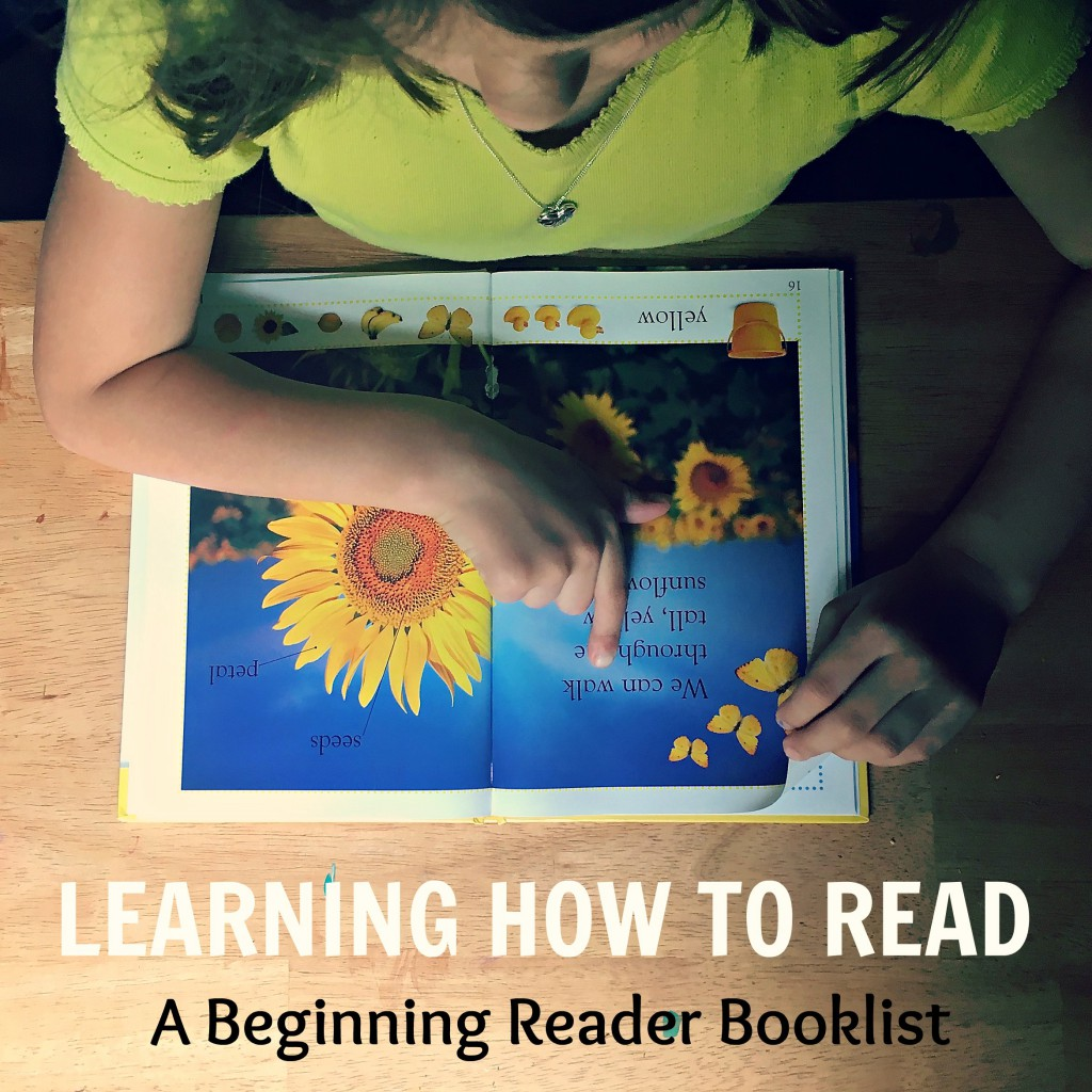 Learning How To Read A Beginning Reader Booklist - This list is broken up into 4 small lists to help build reading confidence in kids