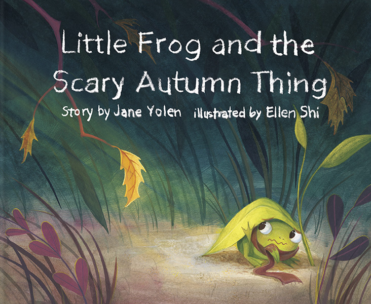 Little Frog and the Scary Autumn Things