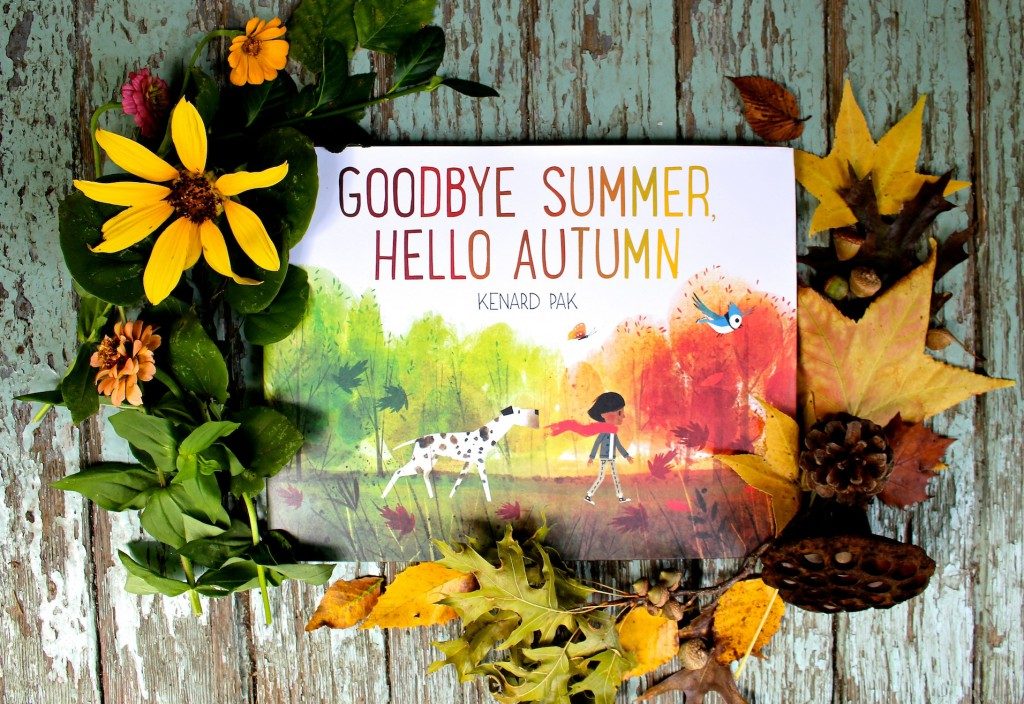 Goodbye Summer, Hello Autumn by Kenard Pak +Flower Press Nature Activity