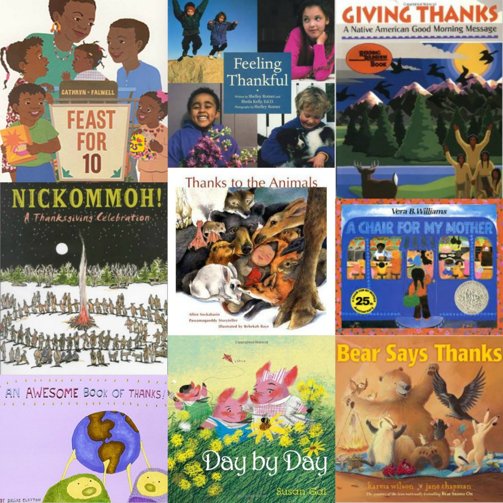 children's books about thankfulness and gratitude