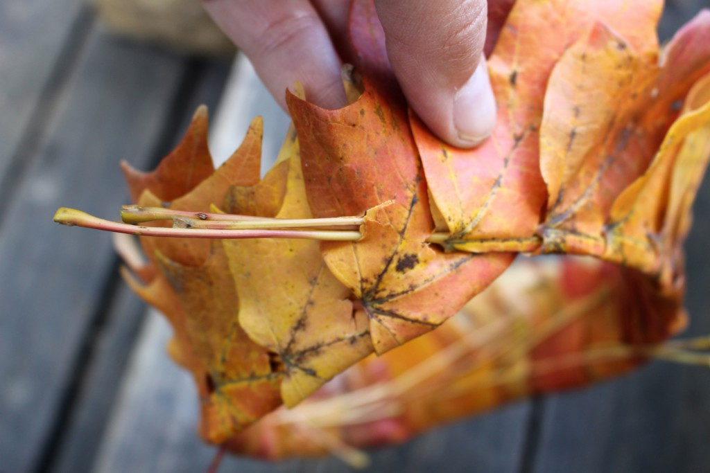 how to make a leaf crown 10