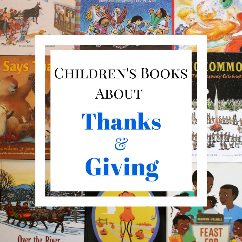 Children's Books About Thanks and Giving